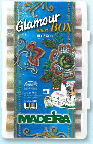 GLAMOUR No.12 SMARTBOX 18 x  200m + NEEDLES AND DESIGN CD