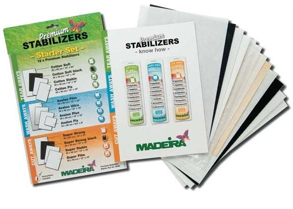 PREMIUM STABILIZER STARTER  SET WITH 12 DIFF. STABILIZERS