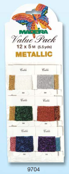 VALUE PACK METALLIC  12 X 5M