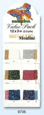 VALUE PACK METALLIC MOULINE  12 X 3M