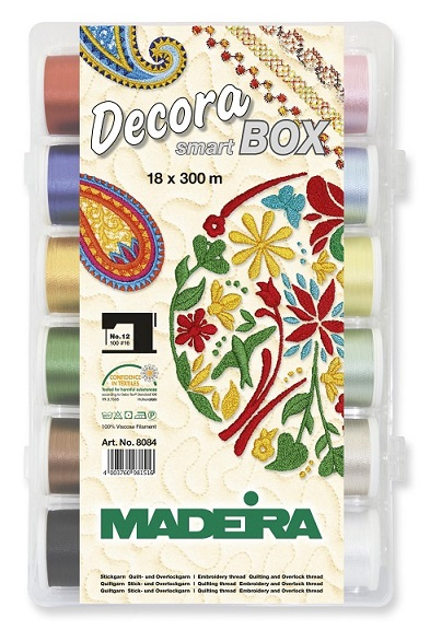 DECORA No. 12 SMARTBOX 18 x  300M + NEEDLES